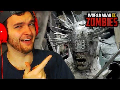 REACTING TO WW2 ZOMBIES DLC 1 TRAILER! (Call of Duty WW2 Zombies)