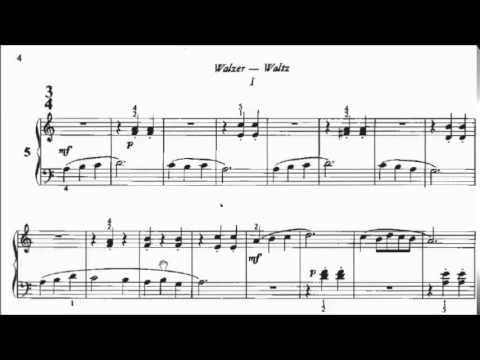 ABRSM Piano 2015-2016 Grade 1 B:5 B5 Lajos Papp Waltz 22 Little Piano Pieces No.5 Sheet Music