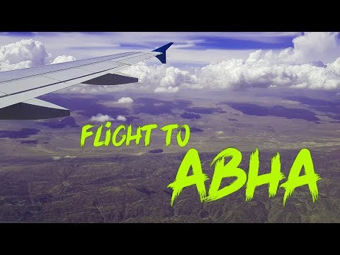 My first Vlog | A Flight to abha saudi arabia | Beautiful place for vacations