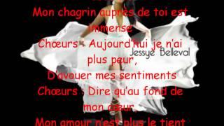 JESSY BELLEVAL Tout une vie (Parole)