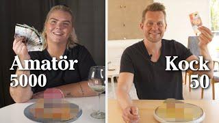 Amatör får 5000, kock 50 – vem lagar godast frukost?