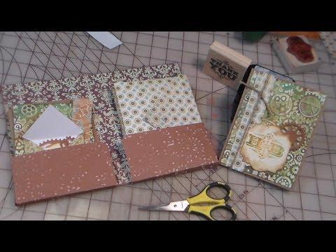 DIY stationary set papercraft