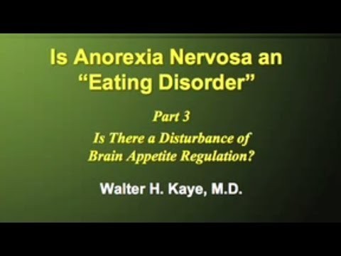 Disturbance of Brain Appetite Regulation & Anorexia (Part 3 of 3)