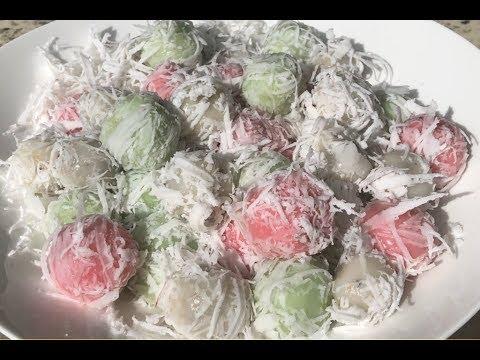 Khmer Dessrt- Coconut Balls នំស្នូលដូង