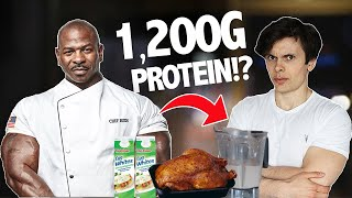 I Tried White House Chef Andre Rush's INSANE Daily Routine