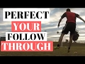How To Improve Your Shot Power In Soccer - How To Follow Through In Soccer