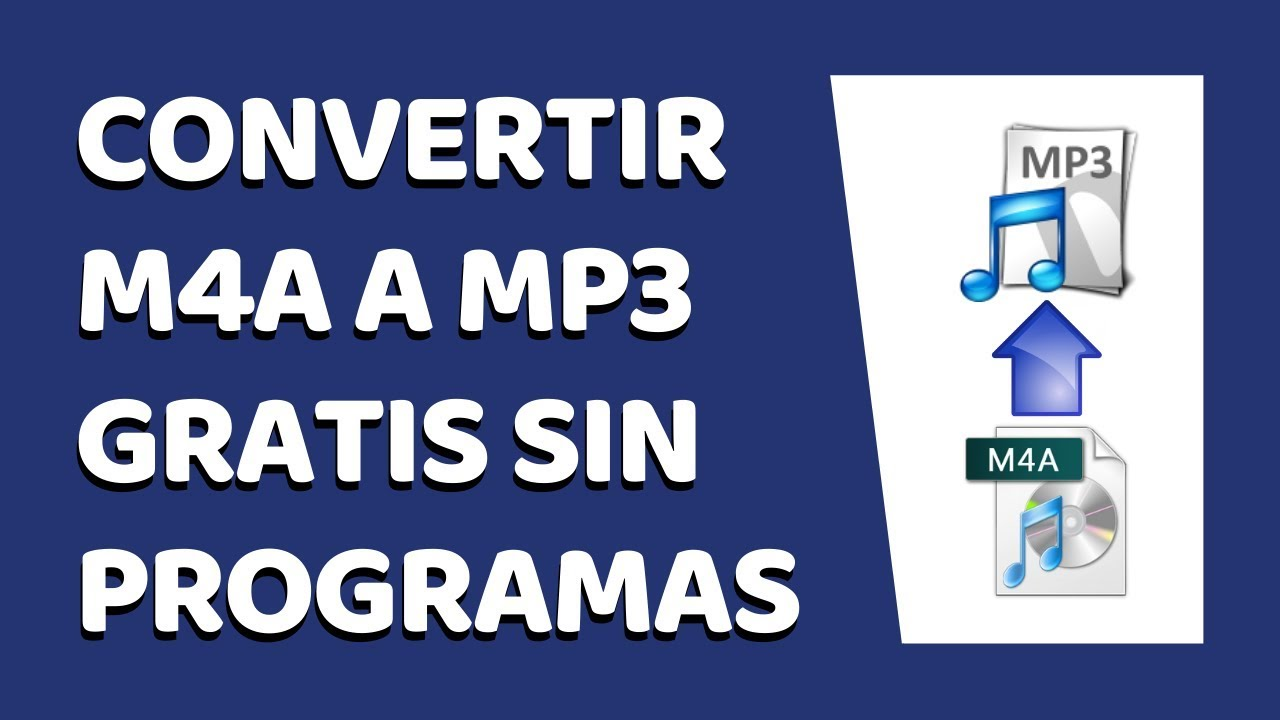 Cómo Convertir M4a A Mp3 Sin Programas 2020 Youtube