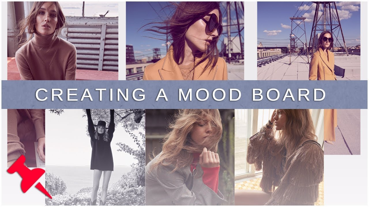 Planning A Photo Shoot Start To Finish Part 2 Creating A Mood Board Youtube