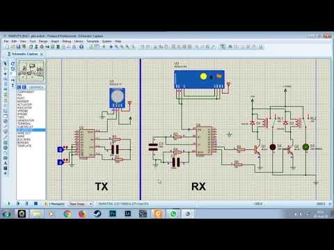 Remote Switching dengan IC HT12D dan HT12E dan telemetry 433 MHz