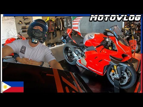 Time For A New Bike - Ducati Shopping In The Philippines - Motovlog