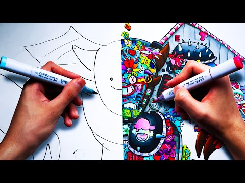 Finishing ZHC´s Drawing for 24 Hours Straight