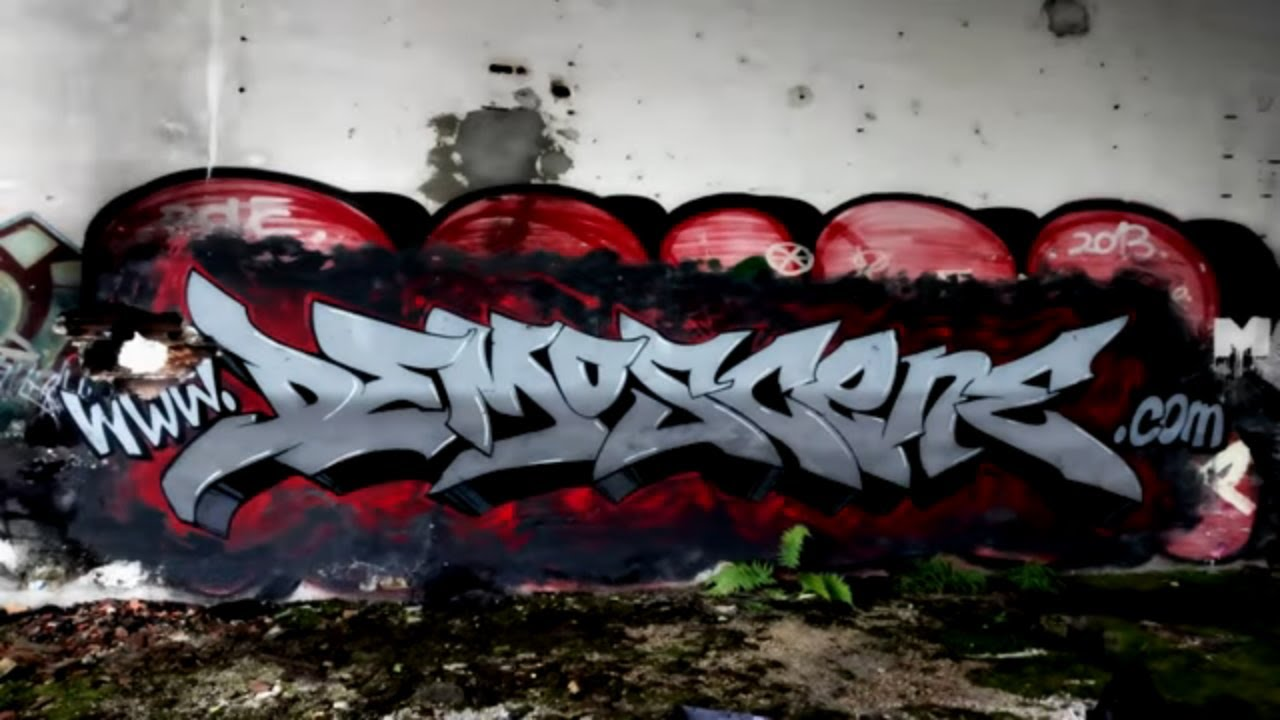 Graffiti Wildstyle Time Lapse 2020