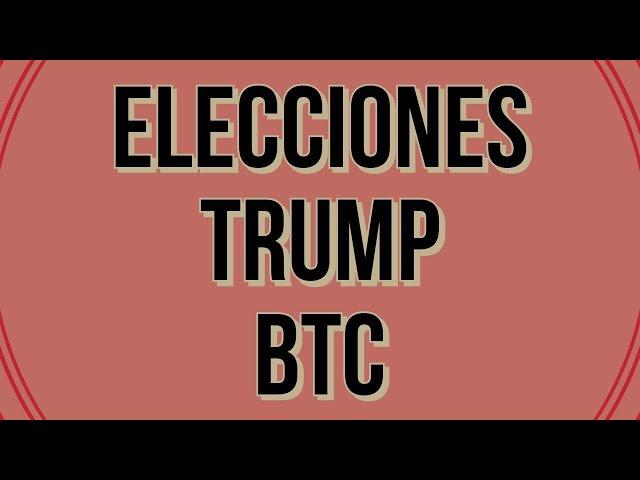 Elecciones Noviembre 2020 ¿cómo puede afectar el precio de Bitcoin?