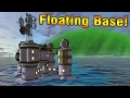 KSP: Building a floating base on LAYTHE!