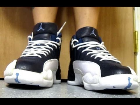 e8f7b12f1fc660 Air Jordan Playoff 12 XII Sneaker Review + On Feet With  DjDelz ...