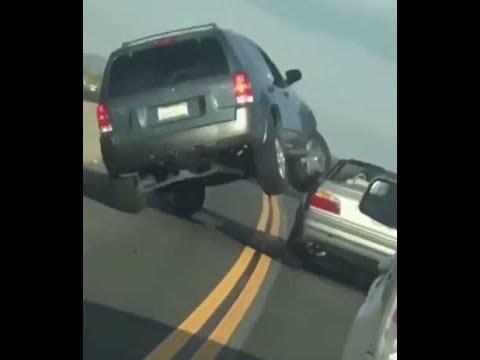 Road Rage Car Flips Oceanside California Feb 2018