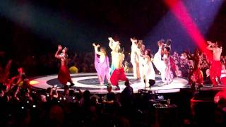 Britney Spears Concert in Melbourne - 27/11/2009 - Me Against the Music song (Indian Style)
