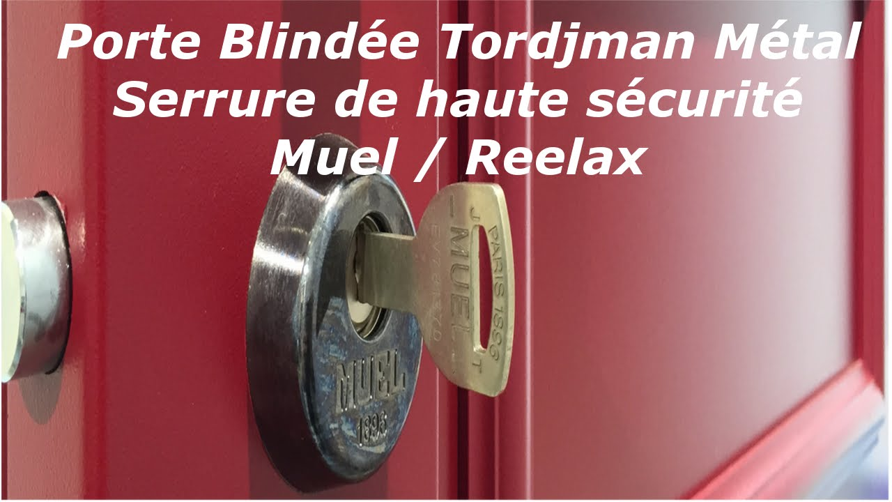 TUTO Comment Installer Une Porte Blindée Tordjman Métal Rmetic Métal? -  YouTube