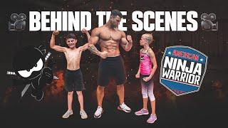 NinjaKidzTV Giant Vs. Gymnast - Behind The Scenes w/ Joe Wachs