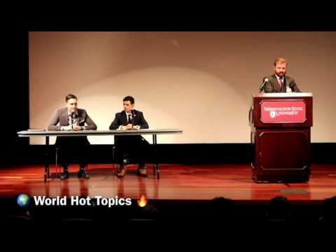 Debate: Young Democrats Vs WSU College Republicans