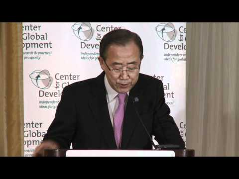 United Nations Secretary-General Ban Ki-moon details Sustainable Energy for All plan
