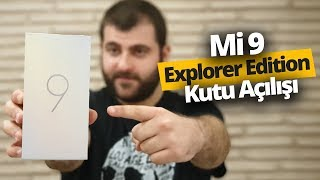 12 GB RAM'li Xiaomi Mi 9 Explorer Edition Türk Topraklarında! İŞTE İLK KUTU AÇILIŞI