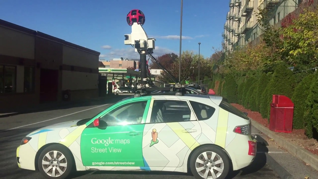 Quick Walk Around Of The Rare Google Maps Street View Car On 3rd