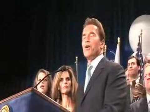 Text Of Schwarzenegger's Speech