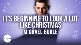 Michael Bublé - It's Beginning To Look A Lot Like Christmas (Karaoke Instrumental) | SongJam