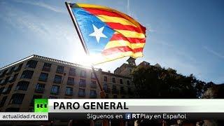 Cuarto día de protestas en Cataluña con cortes de vías y huelga general