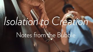 Isolation to Creation. Notes from the Bubble with Gregory Richardson and Leonardo Sandoval