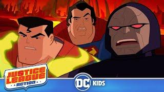 Justice League Action | Darkseid's Trap | DC Kids