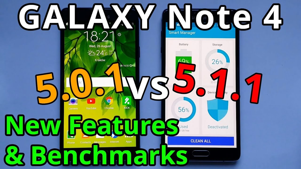 android 5.1.1 features note 4