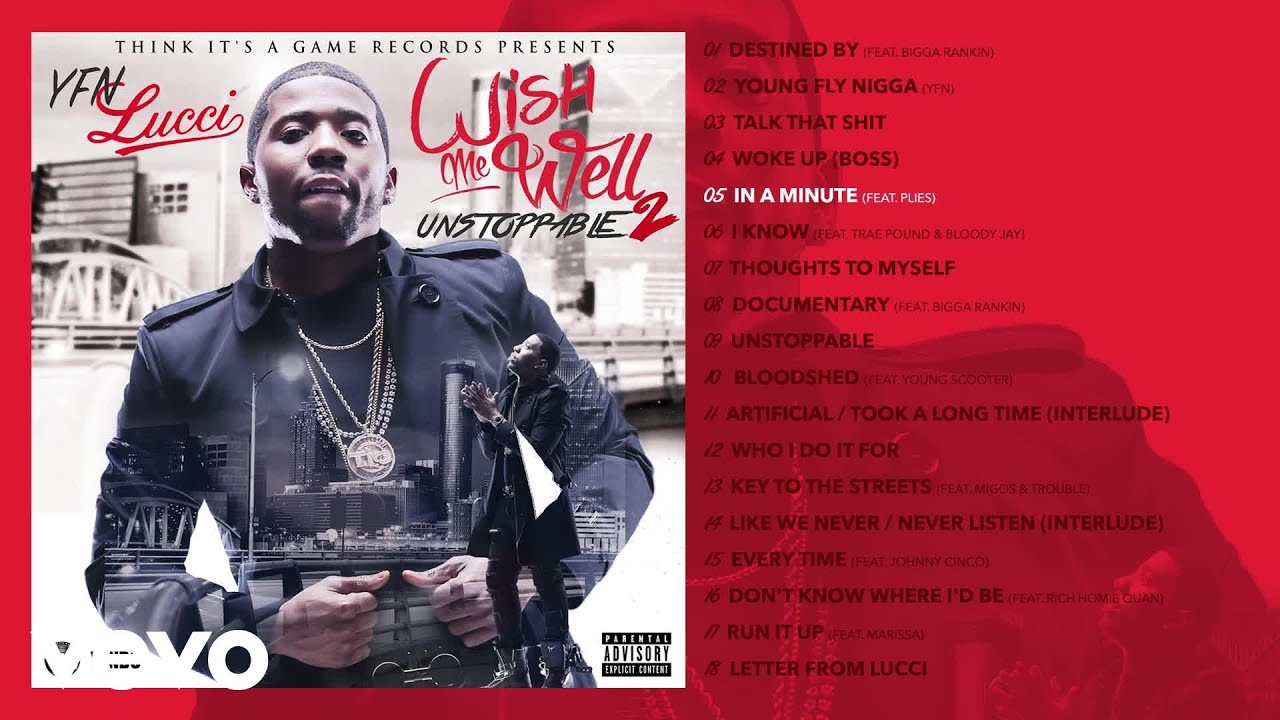 YFN Lucci - In A Minute (Audio) ft  Plies