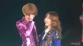 Repeat youtube video Taeyeon & Sehun - Falling In Love Again (A Front View)