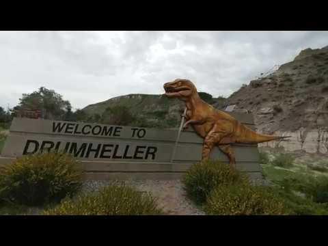 Exploring Royal Tyrrell Museum - Drumheller Alberta Canada - June 2017