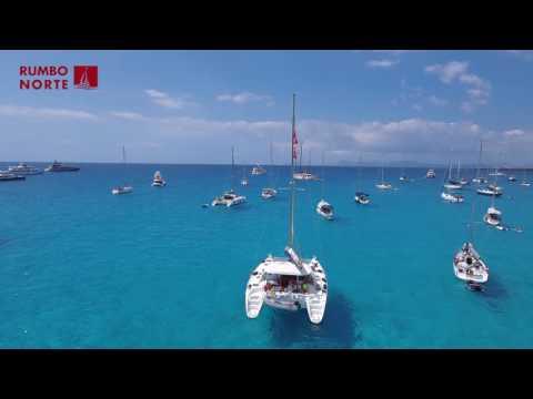 Travel to Ibiza   Rumbo Norte's catamaran