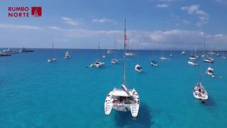 Travel to Ibiza | Rumbo Norte's catamaran