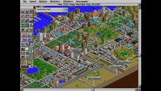 Classic Games 2: SimCity 2000 (New YouTube City Pt.10) Bad Stuff Right At The End!!!