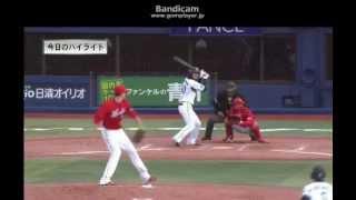 広島東洋カープ 2012年4月07日 ハイライト
