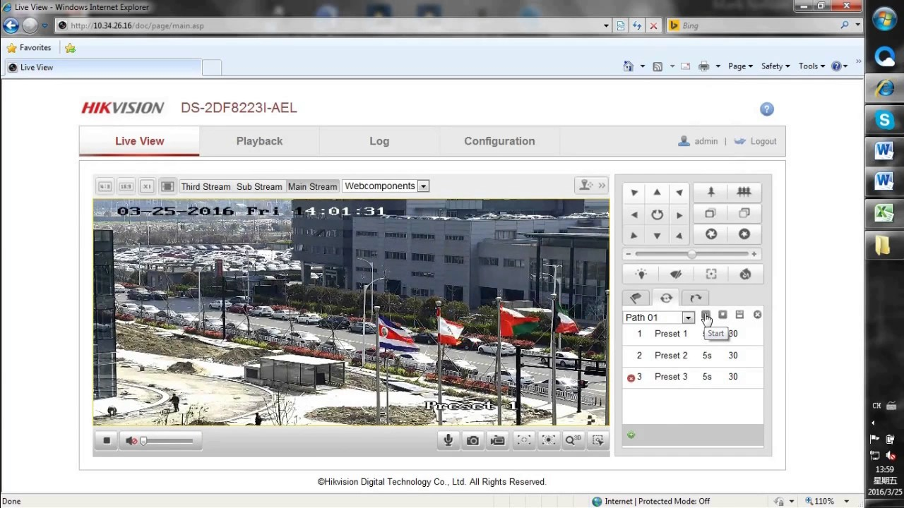 Basic Configuration of Hikvision PTZ Speed Dome Camera