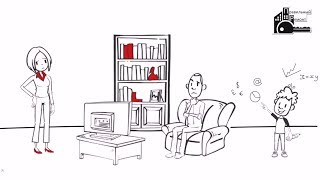 Рисованная видео-презентация  компании