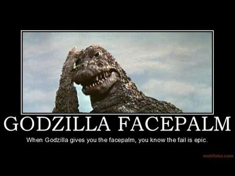 Godzilla Facepalm: Japan Scraps More Reactors & ReStart More Update 3/18/15