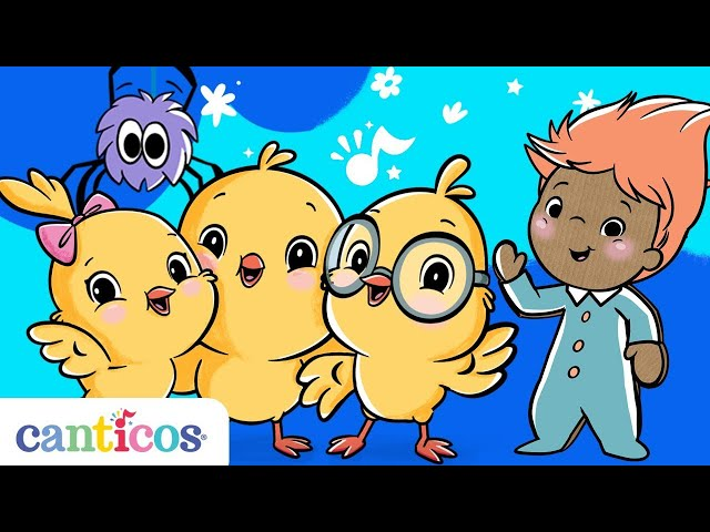 Canticos | 15 Nursery Rhymes in English for Kids and Toddlers | 17 minutes of music