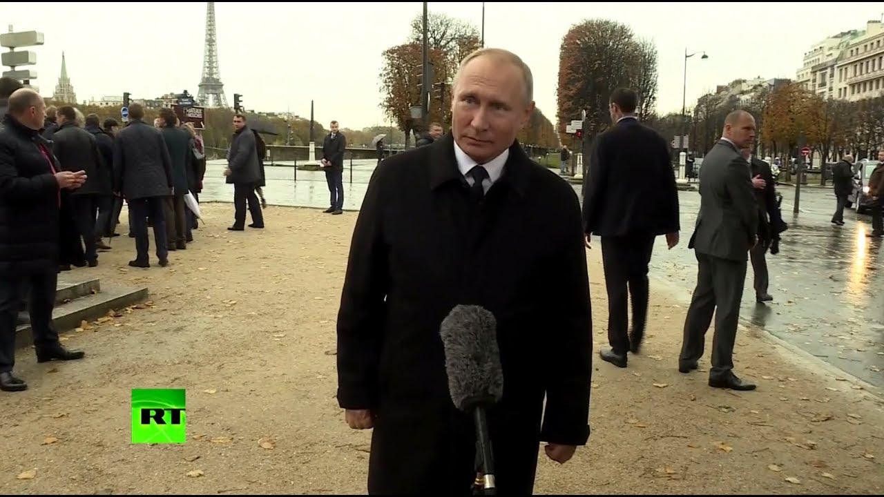 «Это не имеет ничего общего с демократией»: Путин о ситуации с RT во Франции