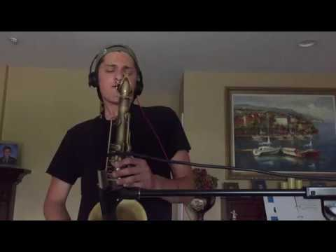 How Redbone Should Have Ended    Childish Gambino Redbone    Sax Cover By Augie Bello