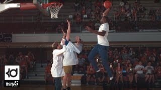 Kevin Durant Dunks in Slow Motion w/ The Slow Mo Guys