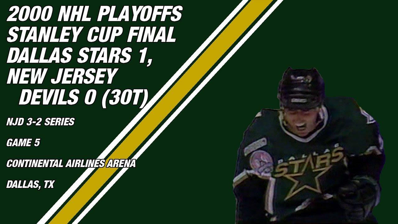 size 40 2fd16 33599 2000 Stanley Cup Final Game 5: Dallas Stars 1, New Jersey Devils 0 (3OT)