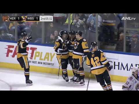 Hershey Bears 4 at Wilkes-Barre/Scranton Penguins 2 (February 22, 2019)