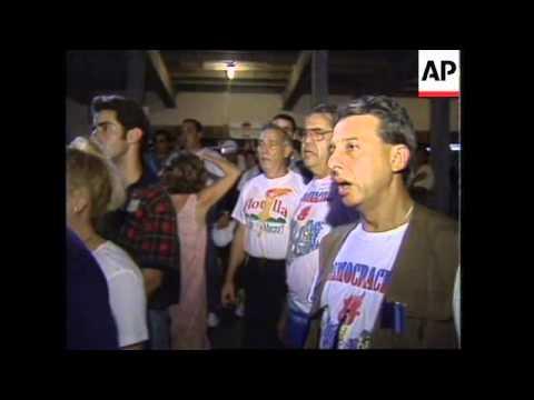 USA: FLORIDA STRAITS: ANTI CASTRO FLOTILLA RETURNS TO FLORIDA UPDATE